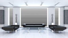 Moderner Innenraum eines Raumes Stockfotos