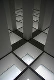 Moderner Innenraum mit Fußbodenblitz vektor abbildung