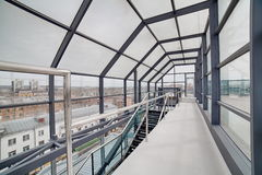 Moderner Innenraum Moderne Architektur Stockfotos