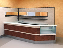 Moderner Innenraum - Stab Stockfoto