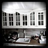 Moderner Innenraum von einfachen Leuten Stockbild