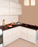 Moderner Kücheninnenraum Stockfoto
