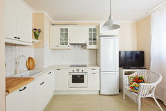 Moderner Küchenraum stockfoto