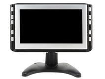 Moderner kompakter Fernseher lizenzfreies stockfoto