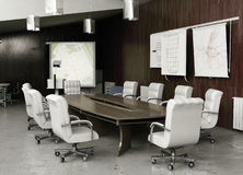Moderner Konferenzinnenraum Lizenzfreie Stockbilder