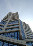 Moderner Kontrollturm Stockbild