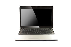 Moderner Laptop Lizenzfreie Stockbilder