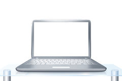 Moderner Laptop PC Stockfoto