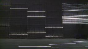 Moderner Laserlichtraum in der Ausstellung stock video footage