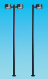 Moderner Laternenpfahlsatz Stockbilder