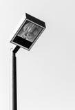 Moderner Laternenpfosten stockfotografie