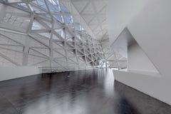 Moderner leerer Atrium- oder Halleninnenraum Lizenzfreie Stockbilder