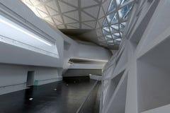 Moderner leerer Atrium- oder Halleninnenraum Stockfotografie