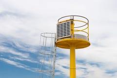 Moderner Leuchtturm Stockbild