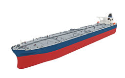 Moderner Öltanker Lizenzfreie Stockfotos