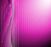 Moderner purpurroter Hintergrund Stockfotos