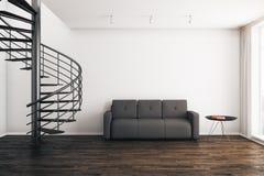 Moderner Rauminnenraum lizenzfreie abbildung
