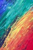 Moderner Regenbogengrafikhintergrund stockfoto