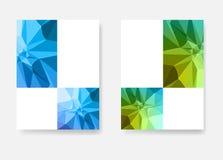 Moderner Schablonenplan des Geschäfts, Seite, Abdeckung Stockfotografie
