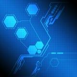 Moderner Schnittstellentechnologieschirm Lizenzfreie Stockfotos