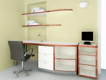 Moderner Schreibtisch Stockfotos