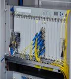 Moderner Serverraum des Netzes Lizenzfreies Stockbild