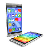 Moderner Smartphone Stockfotografie