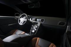 Moderner Sportwageninnenraum Stockfotos