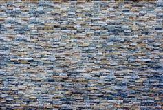 Moderner Steinbacksteinmauerbeschaffenheitshintergrund Muster der Backsteinmauer tauchte auf Getontes Foto lizenzfreie stockfotografie
