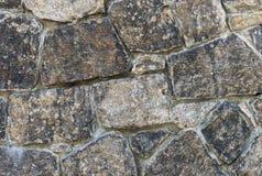 Moderner Steinwandhintergrund Stockfoto