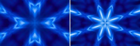 Moderner Stern- und Kreuzhintergrund Stockbilder