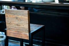 Moderner Stuhl in der Kaffeestube Lizenzfreie Stockfotos