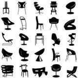 Moderner Stuhlvektor lizenzfreie abbildung