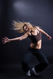 Moderner Tänzer der Frau Stockfotos