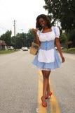 Moderner Tag Dorothy, farbenreich Stockbilder