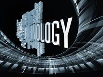 Moderner Technologie-Auszug Lizenzfreie Stockfotografie