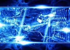 Moderner Technologiehintergrund Lizenzfreies Stockbild