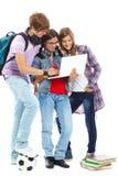 Moderner Teenager Lizenzfreie Stockbilder