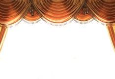 Moderner Trennvorhang Stockfoto