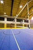 Moderner Turnhalleninnenraum Stockfoto