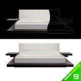 Moderner Vektor der Möbel 8 Stockfoto