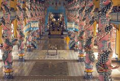 Moderner vietnamesischer Tempel Lizenzfreie Stockbilder