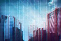Moderner virtueller Bildschirm Lizenzfreie Stockfotografie