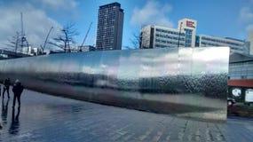 Moderner Wasserfall Stockbild