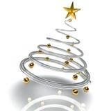 Moderner Weihnachtsbaum Stockfotografie