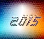 Moderner Weihnachtshintergrund Stockfotos