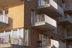 Moderner Wohnkomplex 免版税图库摄影