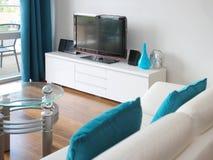 Moderner Wohnzimmer-Innenraum Lizenzfreie Stockbilder