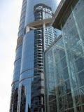 Moderner Wolkenkratzer Stockbild