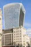 Moderner Wolkenkratzer bei 20 Fenchurch der Straße in London Lizenzfreies Stockfoto